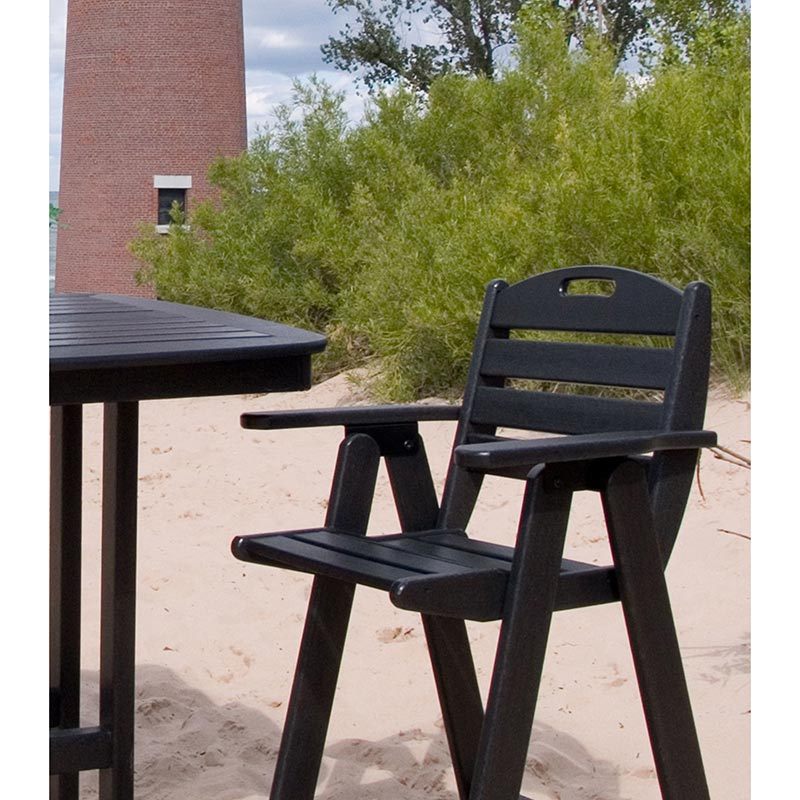 Nautical Outdoor Counter Height Chair