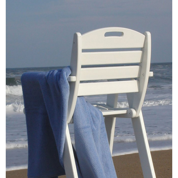 Elegant Nautical Outdoor Counter Height Chair
