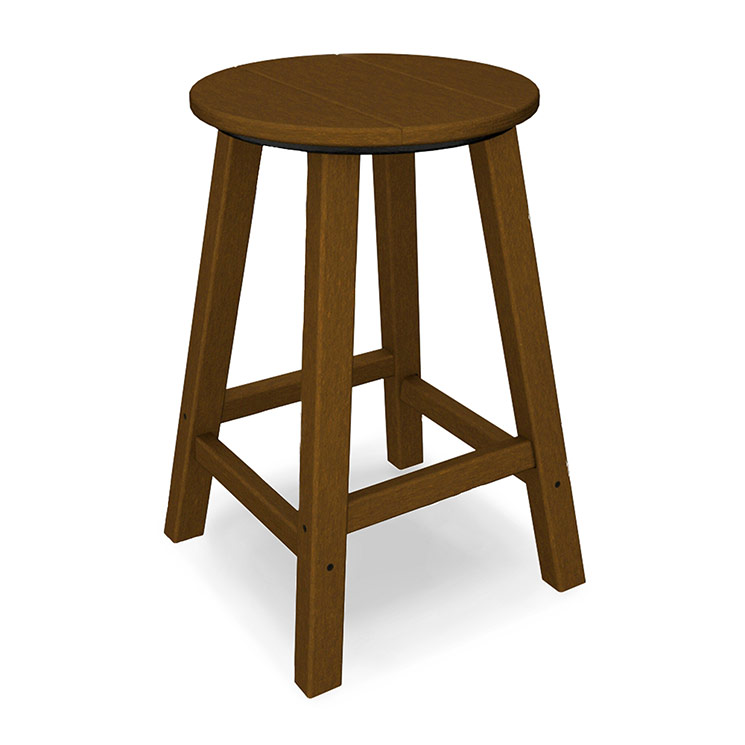 Outdoor Traditional Round Counter Stool