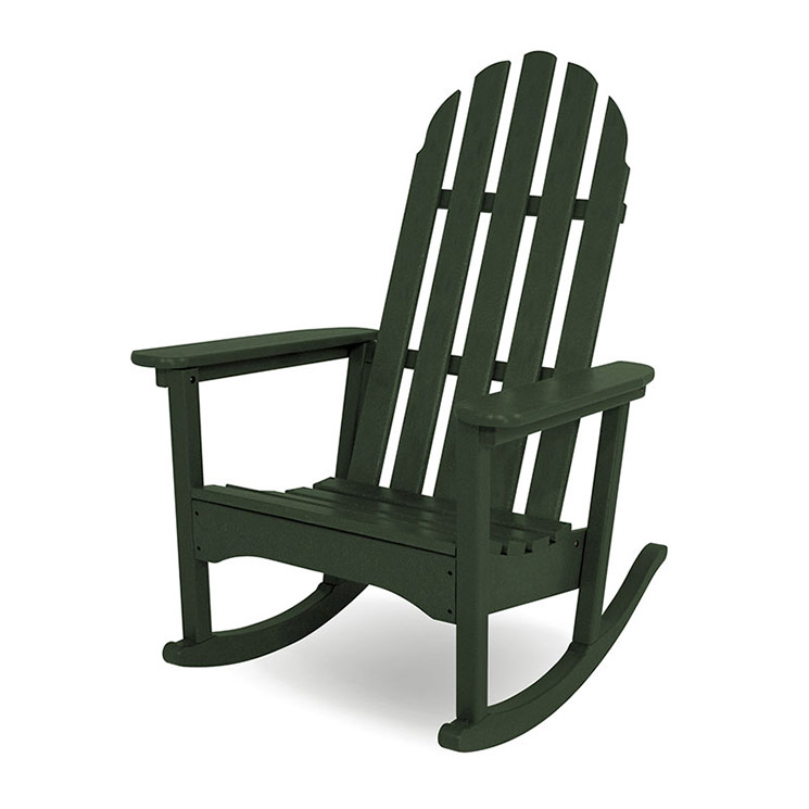 adirondack rocking chair polywood recycled plastic outdoor rockers american made. Black Bedroom Furniture Sets. Home Design Ideas