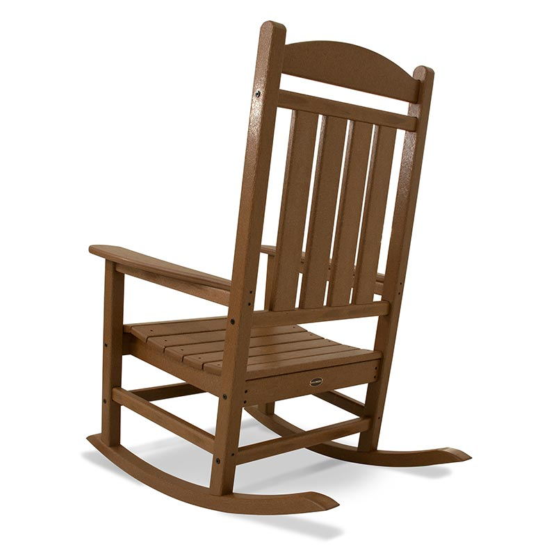 recycled plastic outdoor rocking chair polywood presidential rocker usa made. Black Bedroom Furniture Sets. Home Design Ideas