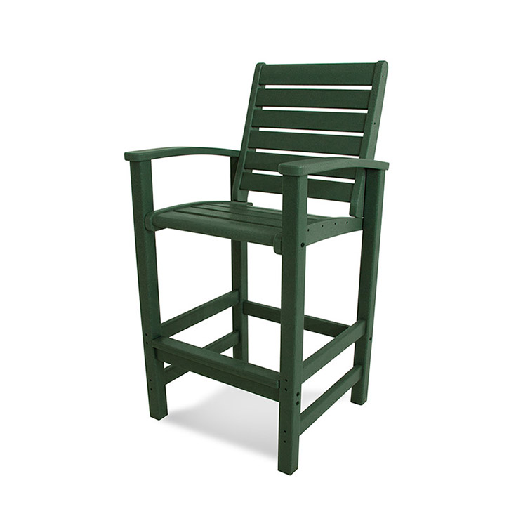 Bar Height Patio Chair Polywood Signature Quality Outdoor Furniture