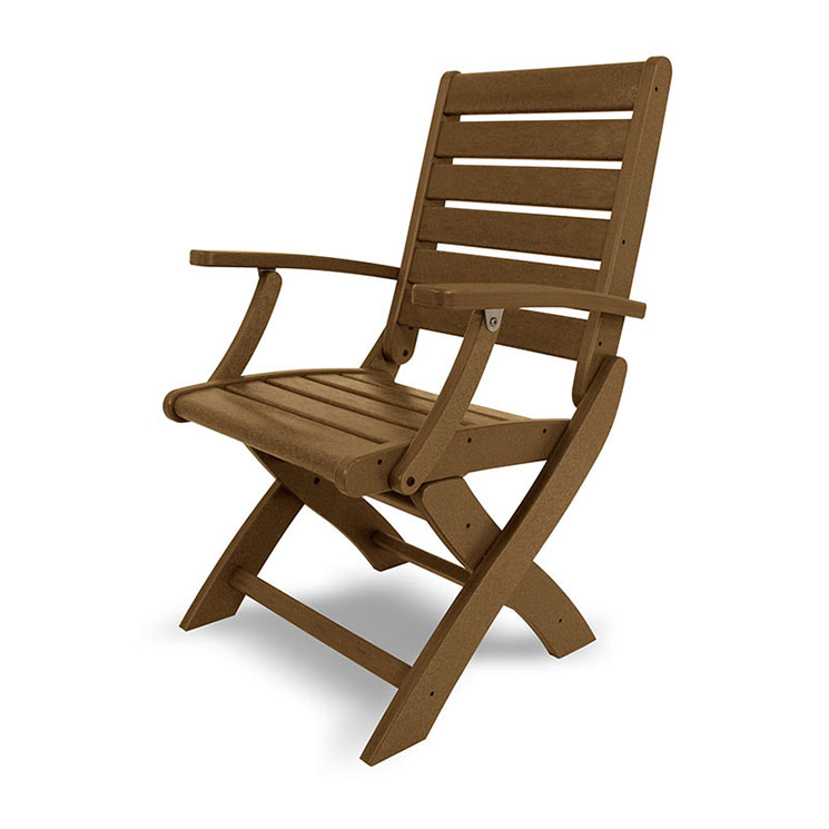 Signature Outdoor Folding Dining Chair