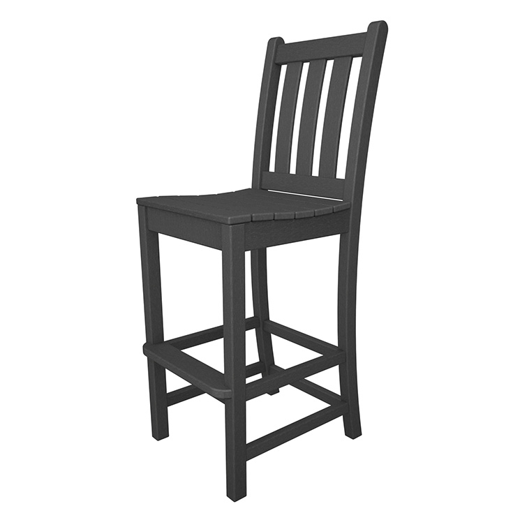Traditional Garden Outdoor Bar Side Chair