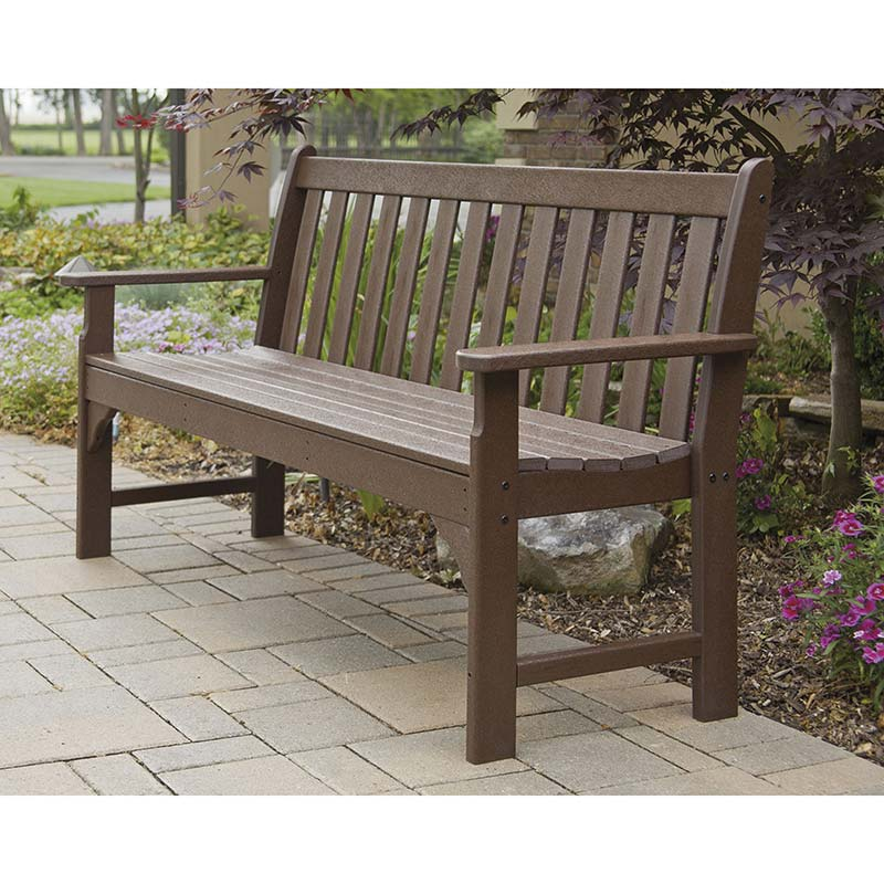 Polywood Vineyard 60 Inch Bench Maintenance Free