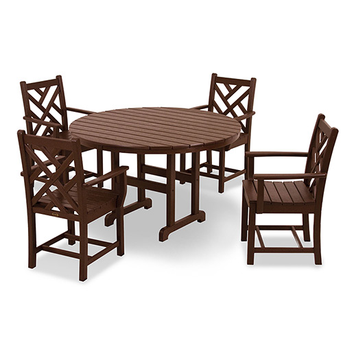 Chippendale 5-Piece Dining Set