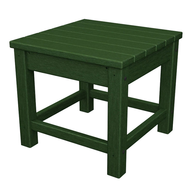 outdoor patio square polywood side table polywood solid recycled