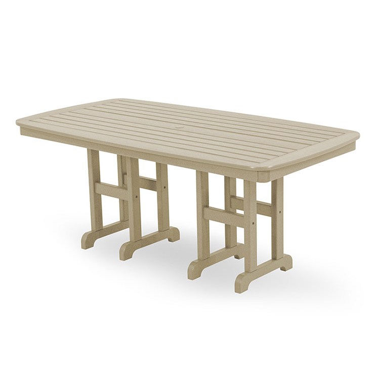 Nautical 37in X 72in Rectangular Dining Table
