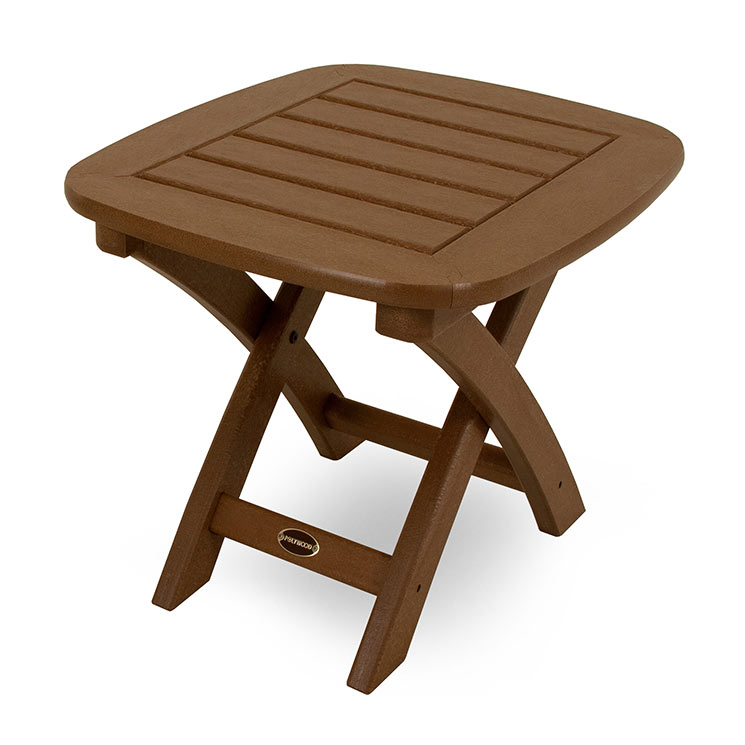 outdoor patio side or end table polywood weatherproof porch patio