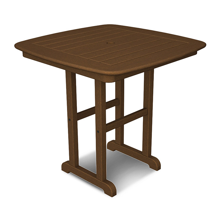 "Nautical 31"" Square Bistro Table"