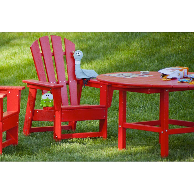 Kids Dining Table: Polywood Childrens - Kids Adirondack Table