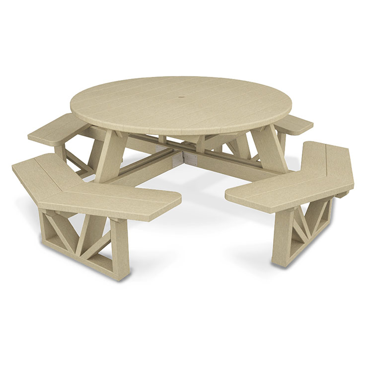 "Park 53"" Octagon Picnic Table"