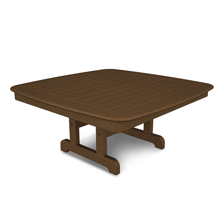 Square Patio Coffee Conversation Tables Polywood All Weather - 44 inch square coffee table
