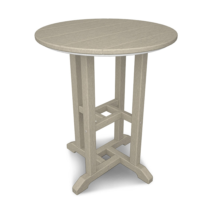 Traditional 24in Round Dining Table