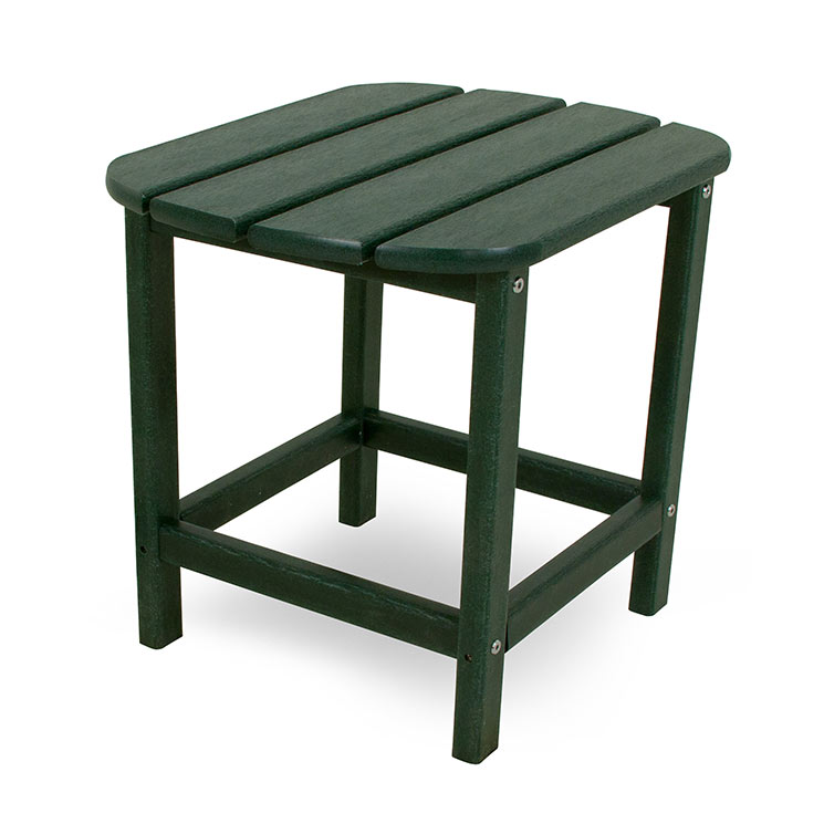 side end table durable plastic pool patio deck furniture