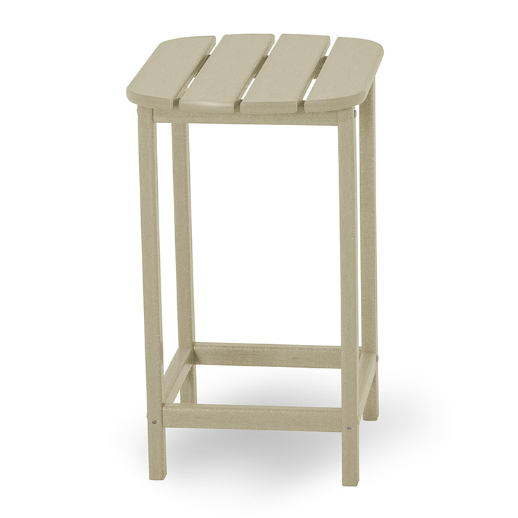 Polywood South Beach Counter Height Tall Side Table