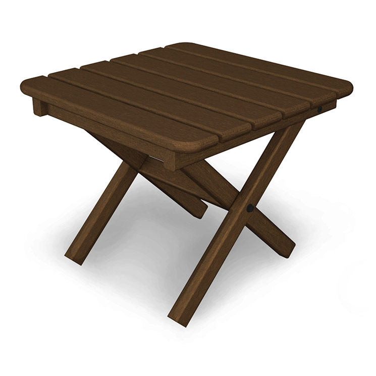 Small square outdoor side table weatherproof tables for for Outdoor patio side tables