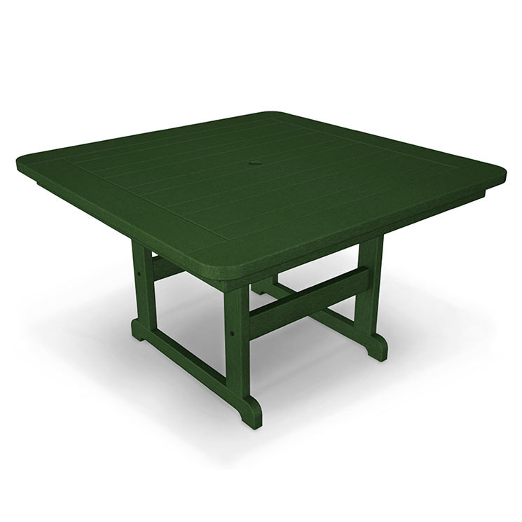 In Stock Polywood Outdoor 44 Square Dining Table Durable All Weather Soli