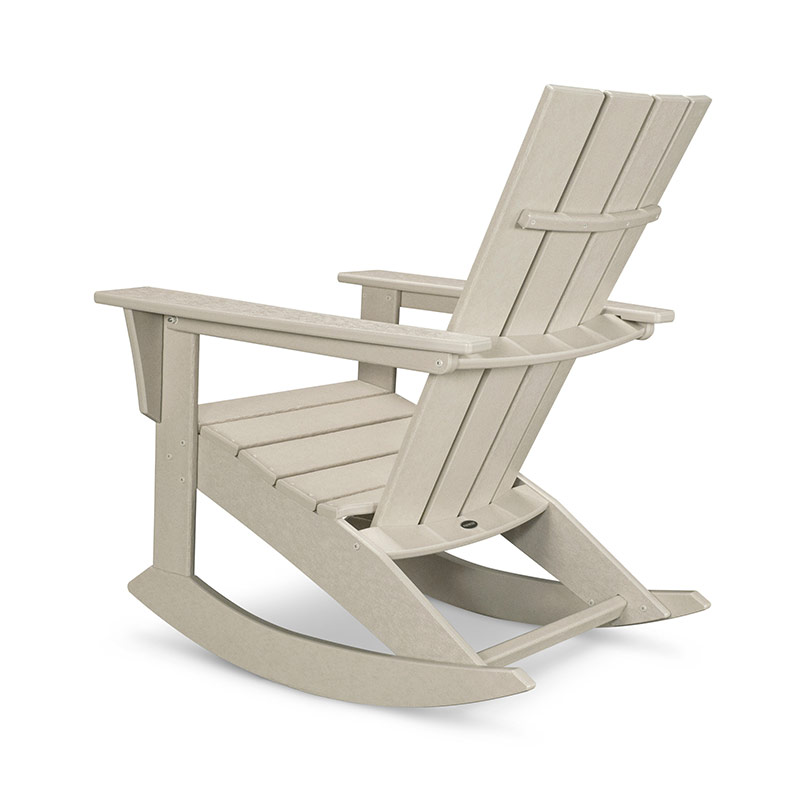 ... ® All-Weather Outdoor Furniture  Quattro Adirondack Rocking Chair