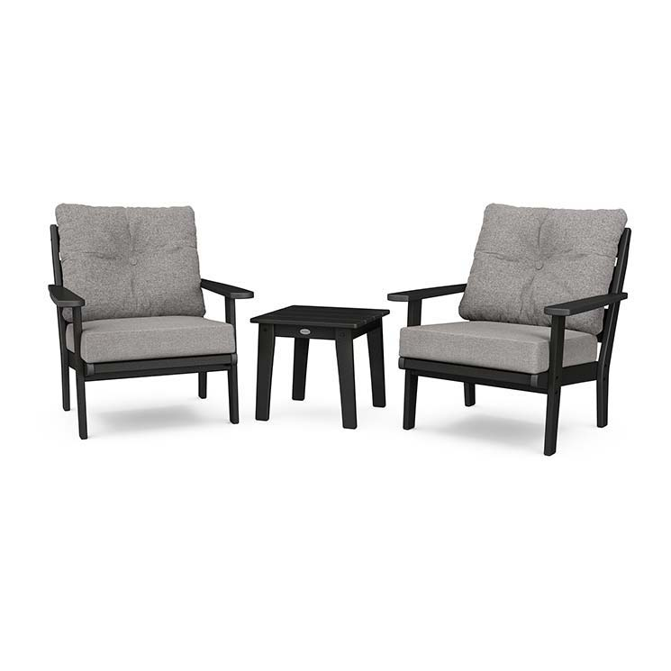 Lakeside 3-Piece Deep Seating Chair Set