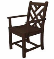 Chippendale Outdoor Dining Arm Chair