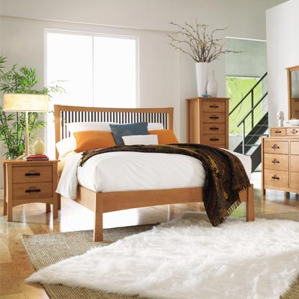 Berkeley Cherry Bedroom Set