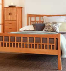 Contemporary Craftsman Bedroom Furniture Set