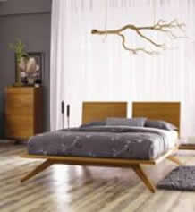 Astrid Cherry Bedroom Set
