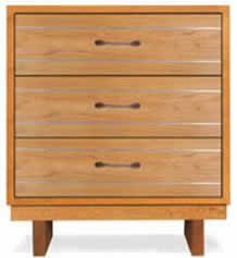 Contemporary Cable 3-Drawer Chest