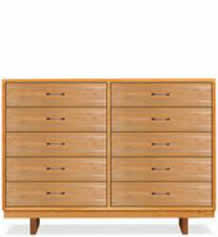 Contemporary Cable 10-Drawer Dresser #1