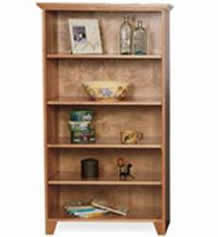 Custom Shaker Bookcases
