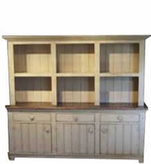 Rustic Reclaimed Barnwood Buffet and Hutch