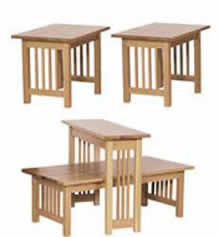 American Mission Living Room Table Set