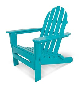 Classic Folding Adirondack Chair - Aruba