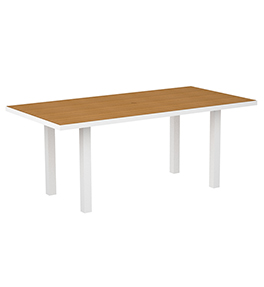 Euro Rectangular Dining Table - Stock