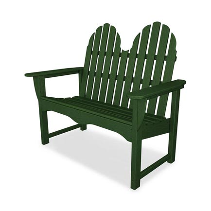 Adirondack Loveseat Bench
