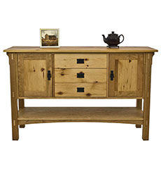American Mission Sideboard in Reclaimed Wood