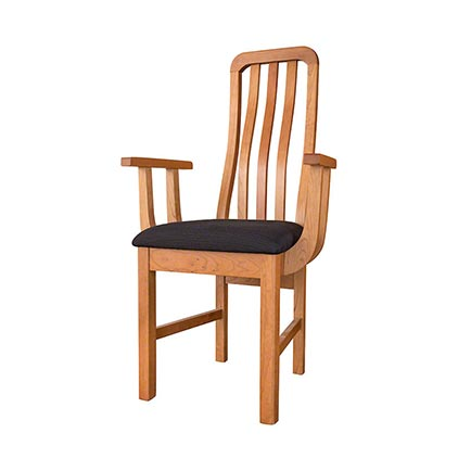 American Mission Short Back Wave Chair - In Stock