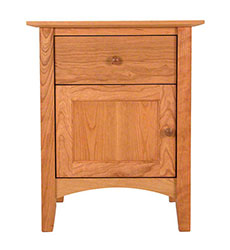American Shaker Nightstand with Door
