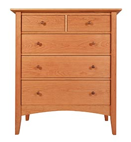 American Shaker 5-Drawer Chest