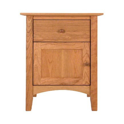 American Shaker 1-Drawer Nightstand with Door