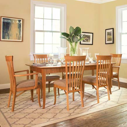 Andrews Natural Cherry Dining Set