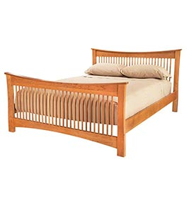 Andrews Natural Cherry Spindle Bed