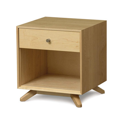 Astrid Maple 1 Drawer Nightstand