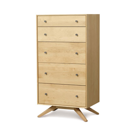 Astrid Maple 5 Drawer Chest