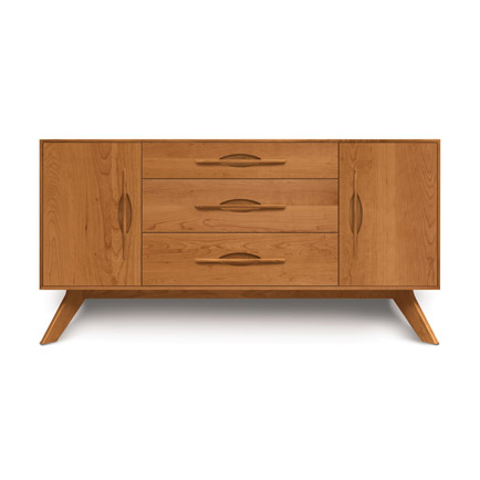 Audrey Cherry 2-Door 3-Drawer Buffet