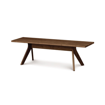 Audrey Walnut Dining Bench