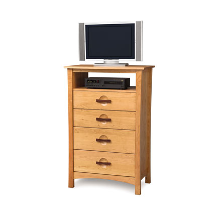 Berkeley 4 Drawer Chest and TV Organizer