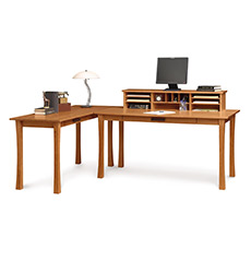 Berkeley Desk w/ Organizer & Return