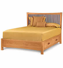 Berkeley Cherry Storage Bed